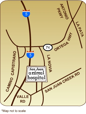 San Juan Animal Hospital, Inc. 32391 San Juan Creek Rd.San Juan Capistrano 92675
